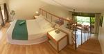 Zweites Schlafzimmer auf der Galerie mit Queensize Doppelbett
